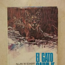 Libros de segunda mano: ANTIGUO LIBRO - EL GATO SALVAJE - FAUNA - ALLAN W ECKERT. Lote 87386924