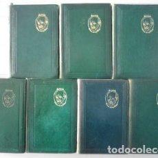 Libros de segunda mano: JACINTO BENAVENTE - OBRAS COMPLETAS. 7 VOLÚMENES I A VII - AGUILAR - AÑOS 40 - 2ª Y 3ª EDS.. Lote 87577476