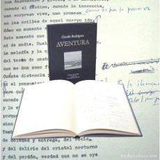 Libros de segunda mano: CLAUDIO RODRÍGUEZ AVENTURA ED TÉMPORA TROPISMOS 2005 1ª EDICIÓN FACSIMILAR A/C LUIS GARCÍA JAMBRINA. Lote 87601000