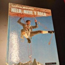 Libros de segunda mano: HIELO NIEVE Y ROCA,GASTON REBUFFAT,RM 1975,ESCALADA,MONTAÑISMO. Lote 87643328