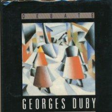 Libros de segunda mano: GEORGES DUBY, LA HISTORIA CONTINÚA, DEBATE, FUENLABRADA, 1992. Lote 87670760