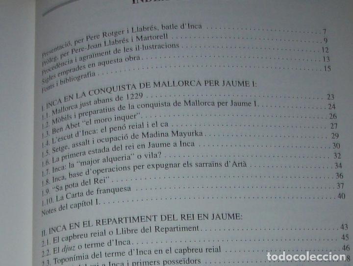 Libros de segunda mano: INCA EN LA HISTÒRIA.(1229-1349).PERE-JOAN LLABRÉS / RAMÓN ROSSELLÓ.GRAN EXEMPLAR. FOTOS.MALLORCA - Foto 20 - 87717256