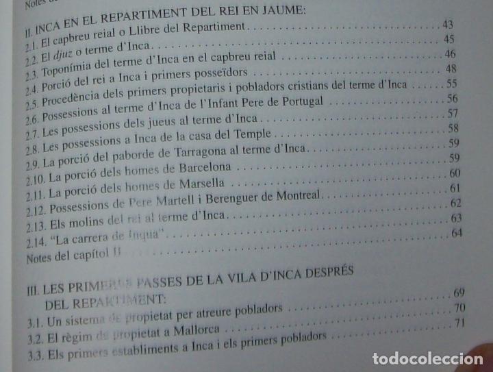 Libros de segunda mano: INCA EN LA HISTÒRIA.(1229-1349).PERE-JOAN LLABRÉS / RAMÓN ROSSELLÓ.GRAN EXEMPLAR. FOTOS.MALLORCA - Foto 21 - 87717256