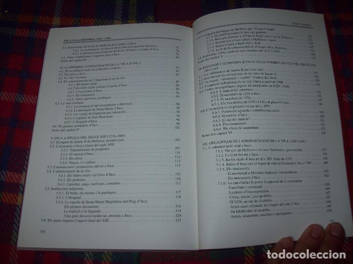Libros de segunda mano: INCA EN LA HISTÒRIA.(1229-1349).PERE-JOAN LLABRÉS / RAMÓN ROSSELLÓ.GRAN EXEMPLAR. FOTOS.MALLORCA - Foto 22 - 87717256