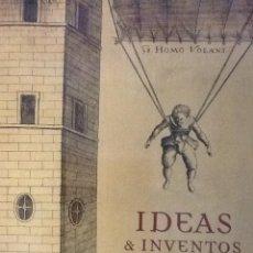 Libros de segunda mano: IDEAS E INVENTOS DE UN MILENIO 900-1900 - LUNWERG. Lote 87748036