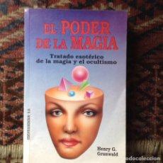 Libros de segunda mano: EL PODER DE LA MAGIA. Lote 87756040
