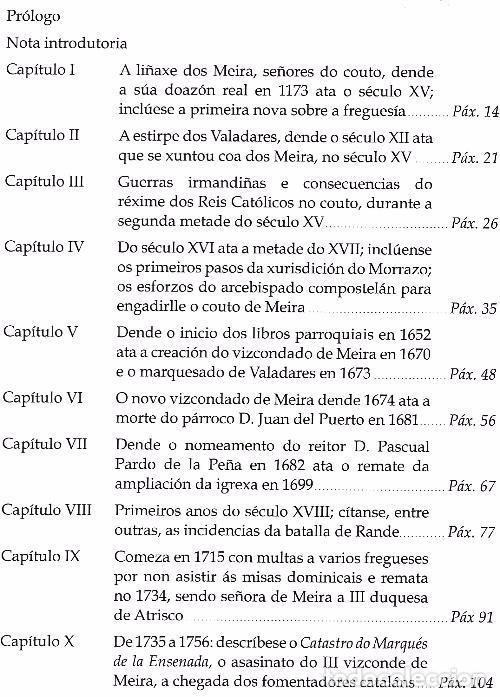 Libros de segunda mano: B644 - PARROQUIA DE SANTA BAIA DE MEIRA. MOAÑA. UXIO GARCIA BARREIRO. PONTEVEDRA. GALICIA. NUEVO. - Foto 12 - 117398192