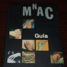 Libros de segunda mano: MNAC GUÍA - MUSEU NACIONAL D'ART DE CATALUNYA - 2008. Lote 88131196