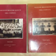 Libros de segunda mano: TORRENTE. CRONICAS. AYUNTAMIENTO. VICENTE BEGUER ESTEVE. OBRA COMPLETA. TOMOS I-II. AÑOS 1997-1998.. Lote 88165651