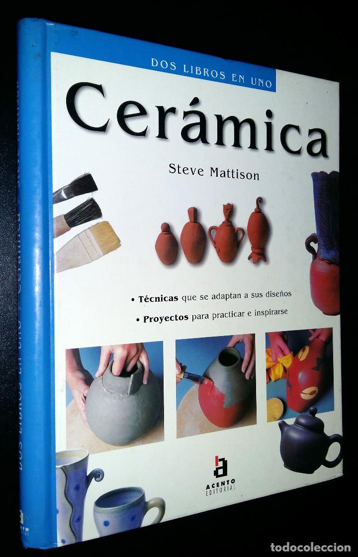 CERAMICA / DOS LIBROS EN UNO / STEVE MATTISON (Libros de Segunda Mano - Ciencias, Manuales y Oficios - Otros)