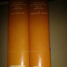 Libros de segunda mano: CONCEPTOS FUNDAMENTALES DE LA TEOLOGÍA. HEINRICH FRIES. Lote 88381688