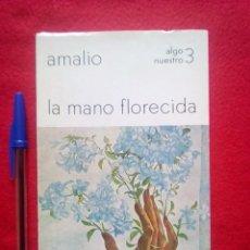 Libros de segunda mano: AMALIO GARCIA DEL MORAL 350 GRS POESIA LA MANO FLORECIDA 94 PGS 1974. Lote 88770288