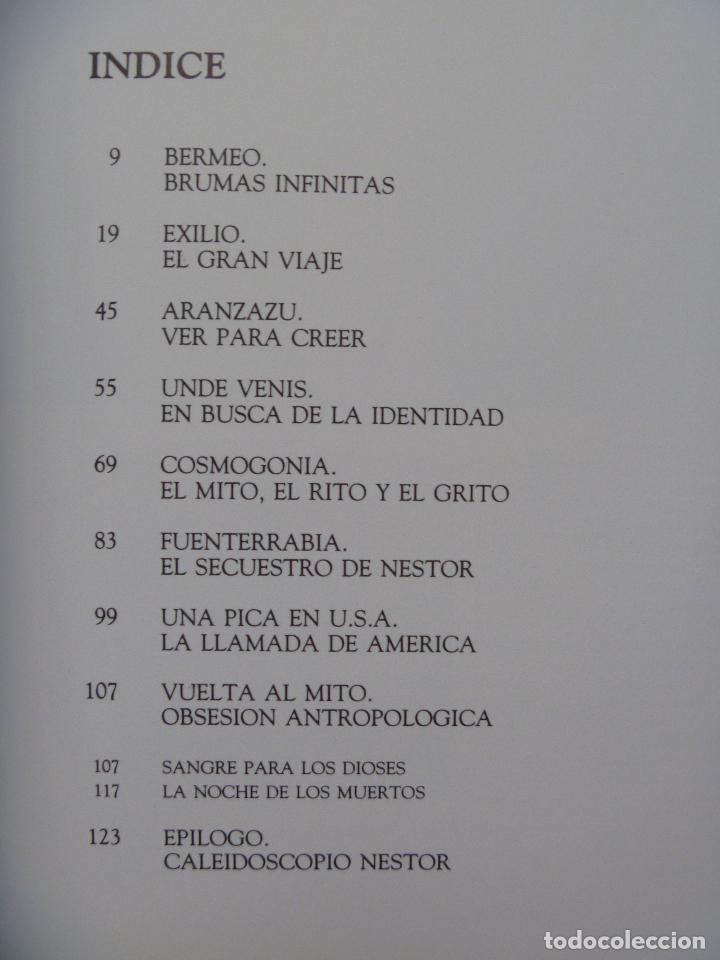 Libros de segunda mano: Basterretxea Nestor Basterrechea LIBRO NUMERADO AUTOR VIDA Y OBRA edición lujo - Foto 4 - 88795700