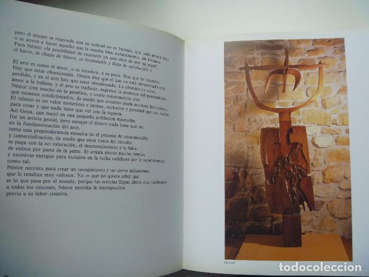Libros de segunda mano: Basterretxea Nestor Basterrechea LIBRO NUMERADO AUTOR VIDA Y OBRA edición lujo - Foto 5 - 88795700