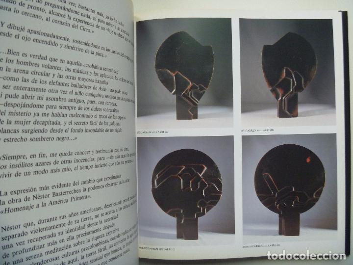 Libros de segunda mano: Basterretxea Nestor Basterrechea LIBRO NUMERADO AUTOR VIDA Y OBRA edición lujo - Foto 7 - 88795700