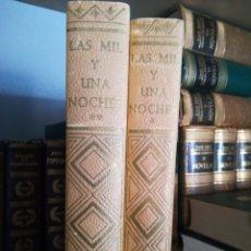 Libros de segunda mano: LAS MIL Y UNA NOCHES EDITORIAL NAUTICA 1964. Lote 88823635