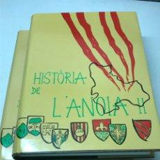 Libros de segunda mano: HISTÒRIA DE L'ANOIA. Lote 88828316