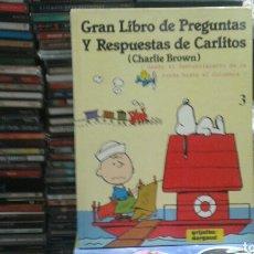 Libros de segunda mano: GRAN LIBRO DE PREGUNTAS Y RESPUESTAS DE CARLITOS(CHARLIE BROWN). Lote 88830907