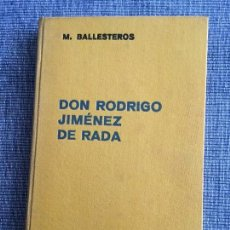 Gebrauchte Bücher - Don Rodrigo Jiménez de Rada. M. Ballesteros Gaibrois. - 88899988