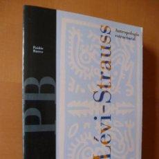 Libros de segunda mano: ANTROPOLOGÍA ESTRUCTURAL. CLAUDE LÉVI-STRAUSS. PAIDÓS. Lote 88902832