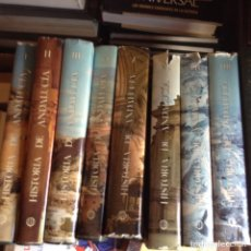 Libros de segunda mano: HISTORIA DE ANDALUCÍA. CUPSA ,ED. PLANETA. 1.980.. Lote 89129391
