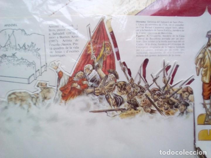 Libros de segunda mano: DIORAMA SITIO BARCELONA 1714 COMPLETO A ESTRENAR 1985 - Foto 5 - 89143740