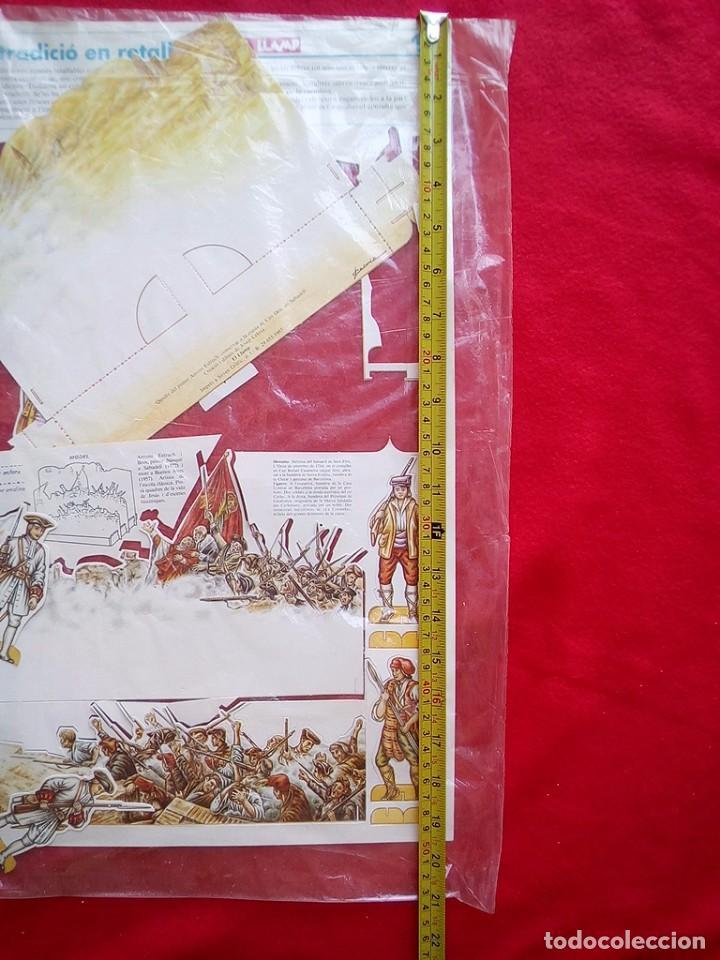 Libros de segunda mano: DIORAMA SITIO BARCELONA 1714 COMPLETO A ESTRENAR 1985 - Foto 8 - 89143740