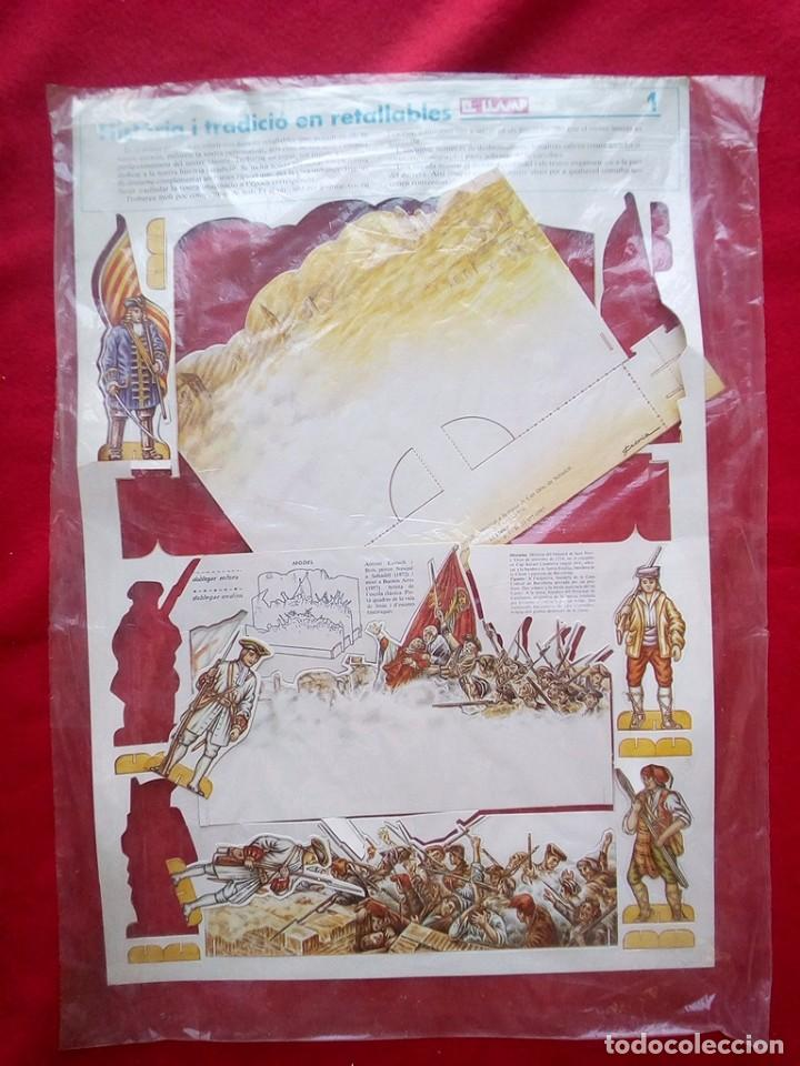 Libros de segunda mano: DIORAMA SITIO BARCELONA 1714 COMPLETO A ESTRENAR 1985 - Foto 9 - 89143740