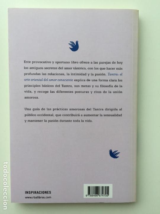 Libros de segunda mano: TANTRA EL ARTE ORIENTAL DEL AMOR CONSCIENTE - CHARLES Y CAROLINE MUIR - INTEGRAL - Foto 3 - 89147160