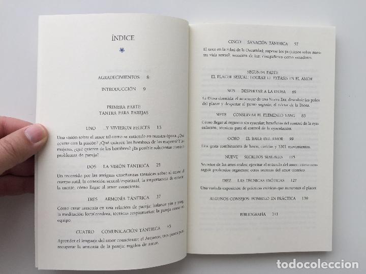 Libros de segunda mano: TANTRA EL ARTE ORIENTAL DEL AMOR CONSCIENTE - CHARLES Y CAROLINE MUIR - INTEGRAL - Foto 4 - 89147160