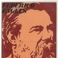 Libros de segunda mano: FEDERICO ENGELS : DEL SOCIALISMO UTÓPICO AL SOCIALISMO CIENTÍFICO. (RICARDO AGUILERA ED, 1969). Lote 89208208