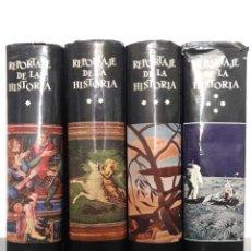 Libros de segunda mano: REPORTAJE DE LA HISTORIA 4 TOMOS EDITORIAL PLANETA. Lote 89345235