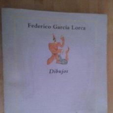 Libros de segunda mano: FEDERICO GARCÍA LORCA. DIBUJOS. Lote 89385372