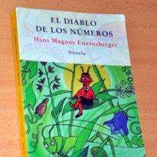 Libros de segunda mano: EL DIABLO DE LOS NÚMEROS - DE HANS M. ENZENSBERGER - EDITORIAL SIRUELA - AÑO 1997. Lote 89429628