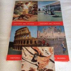 Libros de segunda mano: HISTORIA DEL MUNDO - OBRA EN 5 TOMOS / PIJOAN - ED. POR SALVAT 1963. Lote 113190614