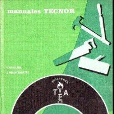 Libros de segunda mano: INDUSTRIAS DE LA MADERA (MANUALES TECNOR, 1966). Lote 89508248