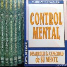 Libros de segunda mano: CONTROL MENTAL. MARIANO GONZÁLEZ. Lote 89512996
