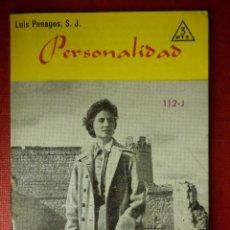 Libros de segunda mano: FOLLETOS ID EDITORIAL SAL TERRAE - 112 J - PERSONALIDAD - 32 PAG. - 12 X 8,5 CM. Lote 230122585