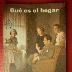 Libros de segunda mano: FOLLETOS ID EDITORIAL SAL TERRAE - 81 F - QUE ES EL HOGAR - 32 PAG. - 12 X 8,5 CM. Lote 230120835