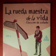 Libros de segunda mano: FOLLETOS ID EDITORIAL SAL TERRAE - 177 J - LA RUEDA MAESTRA DE LA VIDA - 32 PAG. - 12 X 8,5 CM. Lote 230122650
