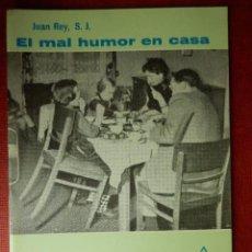 Libros de segunda mano: FOLLETOS ID EDITORIAL SAL TERRAE - 87 F - EL MAL HUMOR EN CASA - 24 PAG. - 12 X 8,5 CM. Lote 89550432