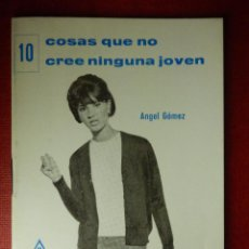 Libros de segunda mano: FOLLETOS ID EDITORIAL SAL TERRAE - 24 J - 10 COSAS QUE NO CREE NINGUNA JOVEN - 32 PAG. - 12 X 8,5 CM. Lote 89551600