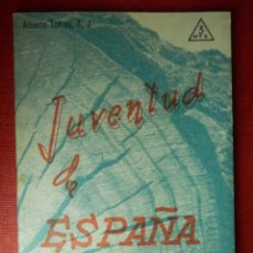 Libros de segunda mano: FOLLETOS ID EDITORIAL SAL TERRAE - 30 J - JUVENTUD DE ESPAÑA - 32 PAG. - 12 X 8,5 CM. Lote 89552692