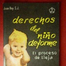 Libros de segunda mano: FOLLETOS ID EDITORIAL SAL TERRAE - 168 F - LOS DERECHOS DEL NIÑO DEFORME - 64 PAG. - 12 X 8,5 CM. Lote 89552872