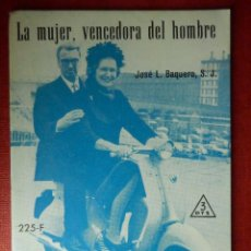 Libros de segunda mano: FOLLETOS ID EDITORIAL SAL TERRAE - 225 F - LA MUJER VENCEDORA DEL HOMBRE - 32 PAG. - 12 X 8,5 CM. Lote 89553884
