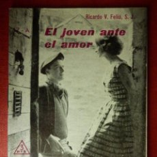 Libros de segunda mano: FOLLETOS ID EDITORIAL SAL TERRAE - 17 A - EL JOVEN ANTE EL AMOR - 32 PAG. - 12 X 8,5 CM. Lote 89553972