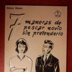 Libros de segunda mano: FOLLETOS ID EDITORIAL SAL TERRAE - 22 A - 7 MANERAS DE PESCAR NOVIO SIN PRETENDERLO 24 P 12 X 8,5 CM. Lote 89556436