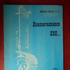 Libros de segunda mano: FOLLETOS ID EDITORIAL SAL TERRAE - 29 A - ENAMORAMIENTO ESO... - 16 PAG. - 12 X 8,5 CM. Lote 89556488