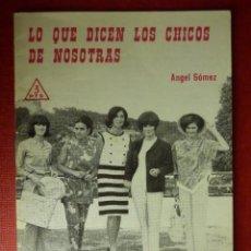 Libros de segunda mano: FOLLETOS ID EDITORIAL SAL TERRAE - 20 J - QUE DICEN LOS CHICOS DE NOSOTRAS - 24 PAG 12 X 8,5 CM. Lote 89557796