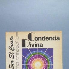 Libros de segunda mano: CONCIENCIA DIVINA. SAINT GERMAIN. Lote 89606180